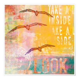 Poster  Free birds - Andrea Haase
