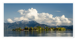 Premium poster Fraueninsel Chiemsee
