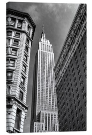 Canvas print  Empire State Building - NYC (monochrome) - Sascha Kilmer