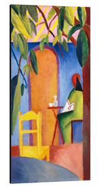 Aluminium print  Turkish Café II - August Macke