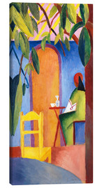 Canvas  Turkish Café II - August Macke
