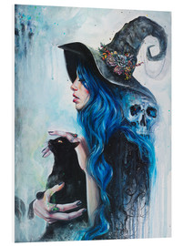 Foam board print  Blue Witch - Tanya Shatseva