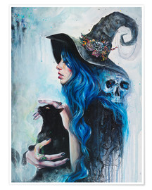 Premium poster Blue Witch