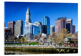 Acrylic print  Boston Downtown - Columbus Waterfront Park - Sascha Kilmer