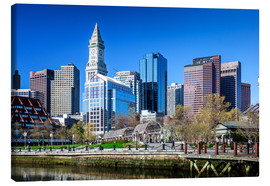 Canvas print  Boston Downtown - Columbus Waterfront Park - Sascha Kilmer