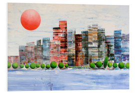 Forex  New York  skyline, abstract - Gerhard Kraus