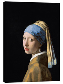 Canvas  Girl with the Pearl Earring - Jan Vermeer