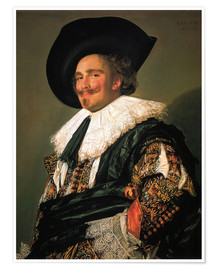 Premium poster  The Laughing Cavalier - Frans Hals