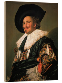 Wood  The Laughing Cavalier - Frans Hals