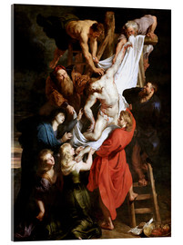 Acrylic print  Descent from the Cross - Peter Paul Rubens