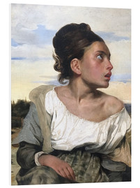 Forex  Orphan in the Cemetery - Eugene Delacroix