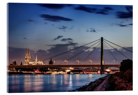 Acrylic print  Daybreak in Cologne - Tanja Arnold Photography