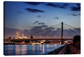 Canvas print  Daybreak in Cologne - Tanja Arnold Photography