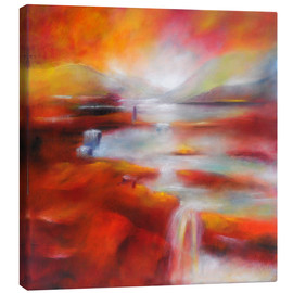Canvas print  Magic the sun - Lydia Harmata