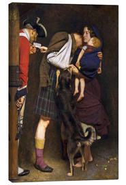 Canvas print  The Order of Release - Sir John Everett Millais