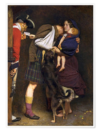 Premium poster  The Order of Release - Sir John Everett Millais