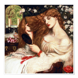 Premium poster  Lady Lilith - Dante Charles Gabriel Rossetti