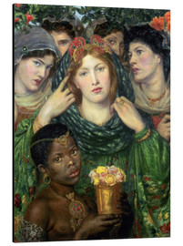 Aluminium print  The beloved - Dante Charles Gabriel Rossetti