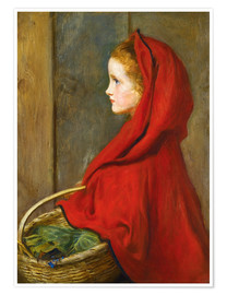 Premium poster Red Riding Hood