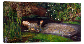 Canvas  Ophelia - Sir John Everett Millais