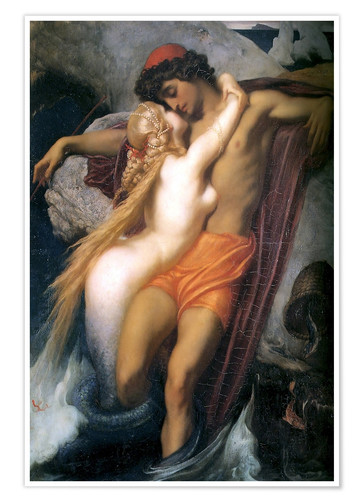 Premium poster The Fisherman and the Syren