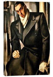 Canvas print  Portrait Of A Man - Tamara de Lempicka