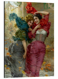Aluminium print  A windy day 2 - Gaetano Bellei