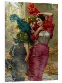 Foam board print  A windy day 2 - Gaetano Bellei