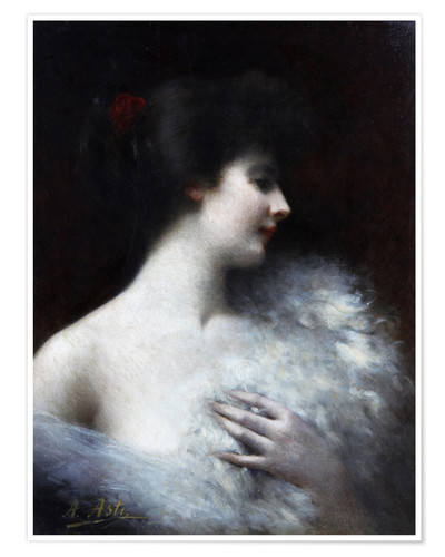 Premium poster Portrait of a lady of Belom