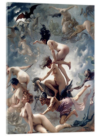 Acrylic print  Witches going to their Sabbath - Luis Ricardo Falero