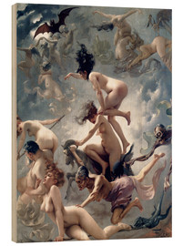 Luis Ricardo Falero - Witches going to their Sabbath