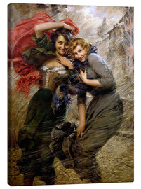 Canvas print  A Windy Day - Gaetano Bellei