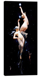 Canvas print  Moonlit Beauties - Luis Ricardo Falero