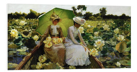 Charles Courtney Curran - Lotus Lilies