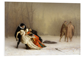 Foam board print  The Duel After the Masquerade  - Jean Leon Gerome
