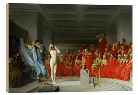 Wood  Phryne before the Areopagus - Jean Leon Gerome