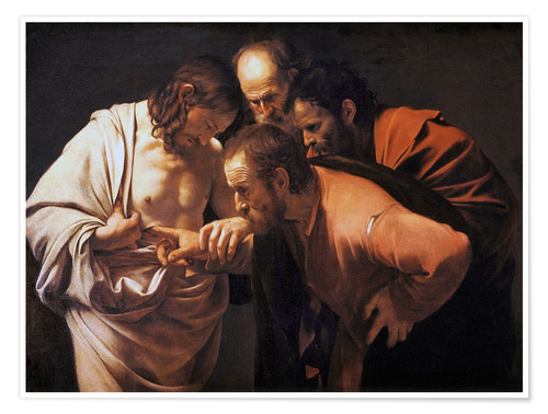Premium poster The Doubting Thomas
