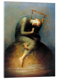 Acrylic print  Hope - George Frederic Watts