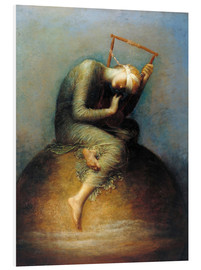 Foam board print  Hope - George Frederic Watts