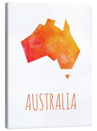 Canvas print  Australia - Stephanie Wittenburg