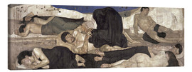 Canvas print  The Night - Ferdinand Hodler