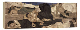 Wood print  The Night - Ferdinand Hodler
