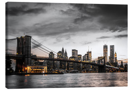 Canvas print  Brooklyn Bridge - Hannes Cmarits