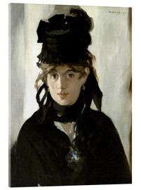 Acrylic print  Berthe Morisot with a Bouquet of Violets - Edouard Manet
