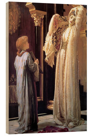 Wood print  Light of the harem - Frederic Leighton