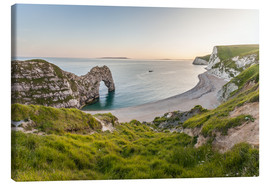 Canvas  Durdle Door at the Jurassic Coast (England) - Christian Müringer