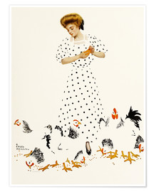 Premium poster  Corn Exchange - Clarence Coles Phillips