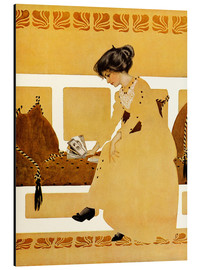 Alu-Dibond  Discarding from strength - Clarence Coles Phillips