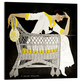 Acrylic print  Summer fiction - Clarence Coles Phillips