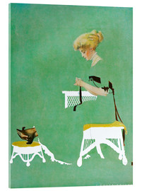 Acrylic glass  Home ties - Clarence Coles Phillips